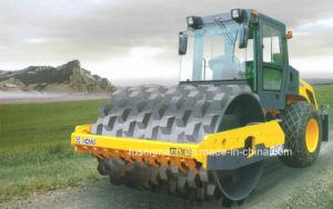 14 тонн одного механического привода барабана Вибрационный дорожный Одновальцовый каток Xs143j
