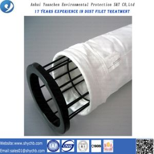 Nonwoven пробитый иглой мешок пылевого фильтра воды и масла Repellent PTFE фильтра для индустрии