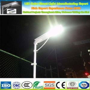 Todos al aire libre en uno de los LED de luz de iluminación de jardín solar calle