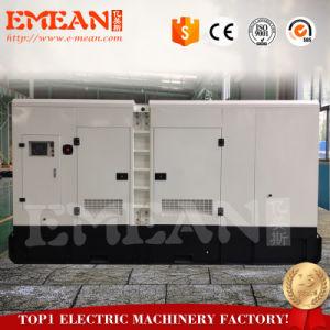 gruppo elettrogeno diesel silenzioso 600kw/750kVA con 2 anni di garanzia