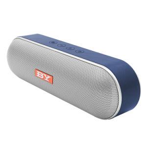 Melhor fábrica venda bom som Mini colunas sem fios Bluetooth portátil por6610 com rádio FM