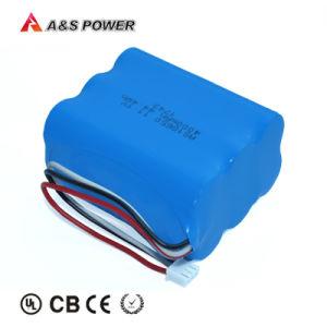 UL2054 Bateria 18650 11,1V 4Ah Bateria 18650 para luz de LED Solar Exterior