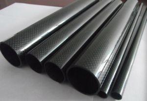 Alta Resistência Od 40mm*ID 36mm*1000mm em fibra de carbono de tubo para o reforço