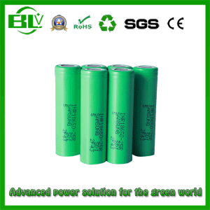 Alta calidad de 2500mAh Batería de ciclo profundo de 18.650 máquinas de aprendizaje