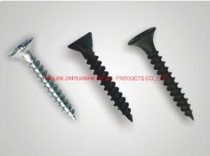 La mejor calidad C1022Un Material de la cabeza Bugle tornillos Drywall Blackphosphated/Galvanizado