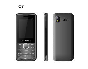 2017 de recentste GSM 2.4inch Dubbele Telefoon van de Cel van de Staaf SIM van de Leverancier van China C7