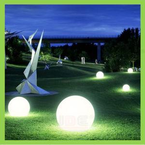 Lâmpada de bola LED iluminado para decoração