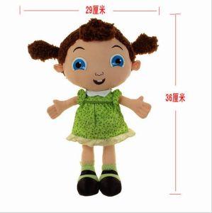 Pt71 Plush Cartoon Meninas Character
