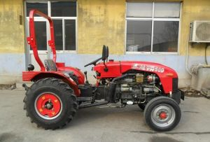 Trattore guidato rotella compatta di Tractor50HP 4*4 con il caricatore