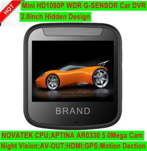 2.0  HDの私用小型車のブラックボックスのダッシュCamcoder DVR; FHD 1080P車のデジタルビデオレコーダー、ソニーのカメラ、駐車制御、WiFi、移動式GPS追跡DVR 2001年