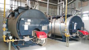 Gas, diesel, caldaia a vapore impaccata del tubo di fuoco del passaggio di Mazut tre