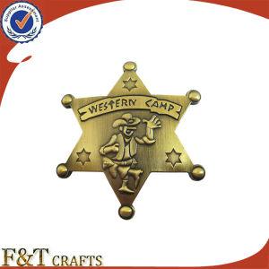 昇進のカスタマイズされたロゴの金属のバッジの折りえりPinの記念品のエナメルPin