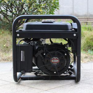 Bison (China) BS3500m 2.8kw 2.8kVA real en el hogar de gran potencia de salida del depósito de combustible en silencio generador insonorizado