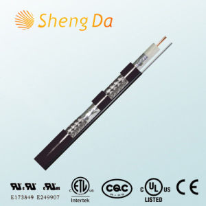 Comunicação especial de alta velocidade RG59 cabo coaxial de quádrupla blindagem cabo HDMI