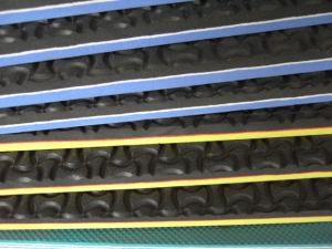 Folhas de EVA com testes padrões para sandálias do flip-flop