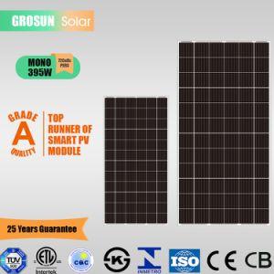 Лучшая цена 72-ячеек Grosun Monocrystalline Солнечная панель 395W (5BB) с TUV, CE, ISO, CQC