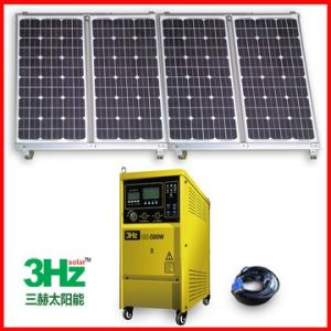 800W太陽エネルギーシステム(格子を離れて)