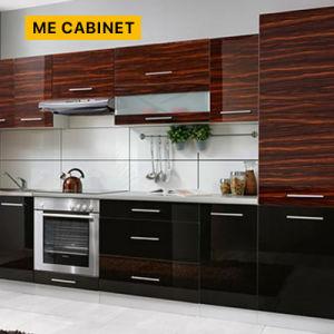 MDF UV brillante profesional kitchen cabinet Makers de China