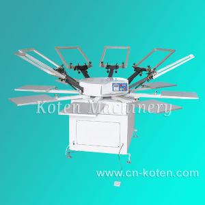 回転式シルクスクリーンの印字機(WPYシリーズ)