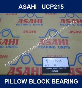 Bloc de chapeau de roulement d'Asahi UCP215
