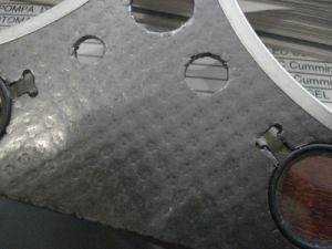 Feuille de graphite laminé