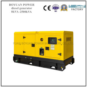 11-500kVA Weifang Gerador silencioso do motor Diesel com ATS