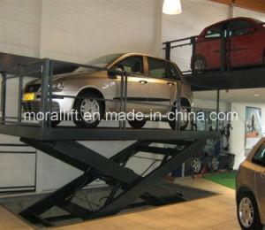 2 Stufen-Garage-Parken-Auto-Aufzug