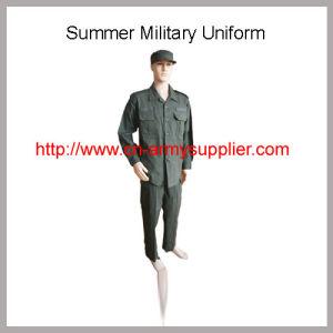 China Ejército de entrenamiento militar de algodón verde