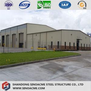 Estructura de acero prefabricada Almacén de bastidor de metal