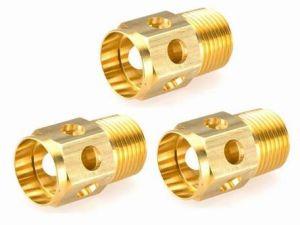 As peças de moagem de CNC de latão de equipamento