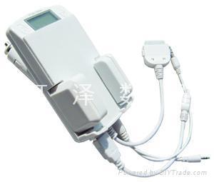 6en1 Kit de coche (carga iPod/transmisor de FM (Hz-iPod-6A1)