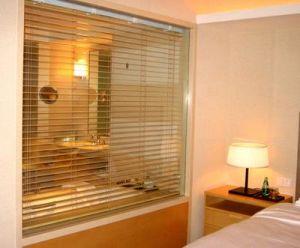 Paulownia жалюзи водонепроницаемый затемнение гостиной исследования Управление с одной спальней