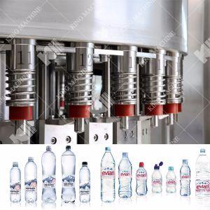 自動飲む天然水びん詰めにする装置