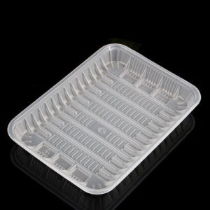 cassetto impaccante della carne della bolla del supermercato di plastica a gettare (cassetto dei pp)