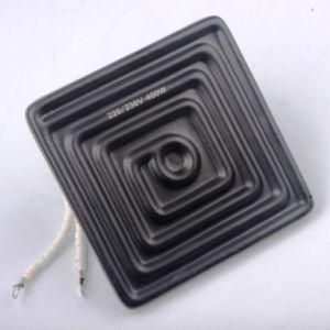 高温抵抗の陶磁器の赤外線ヒーターの要素(245X60mm)