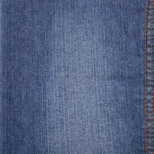 Poliéster algodón Denim Stretch/Slub tejido Denim 6.6oz