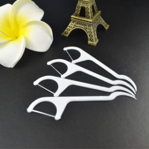 Etiqueta Privada de Fio Dental de plástico Pick China Fabricante