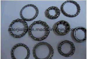 1/4X6/7/11/9 menor AISI1015 Gaiola de esferas de aço carbono/retentor para aluguer de Retenção de Esfera