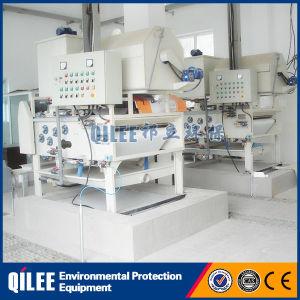 Операции по очистке сточных вод автоматическая шлам фильтра нажмите кнопку System