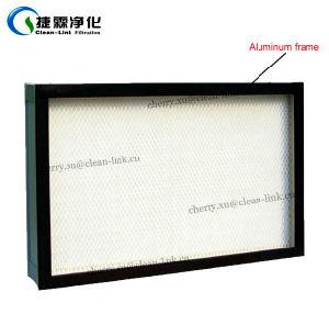 De Filter van de mini-plooi HEPA met de Netten van de Bescherming en het Frame van het Aluminium