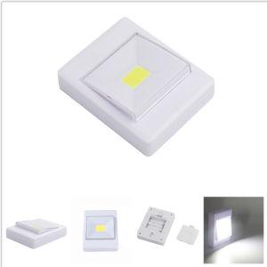 건전지에 의하여 운영하는 3W 옥수수 속 LED 벽 작은 스위치 밤 빛