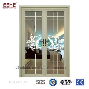 صنع وفقا لطلب الزّبون باب مع ألومنيوم إطار [تمبرد] زجاج