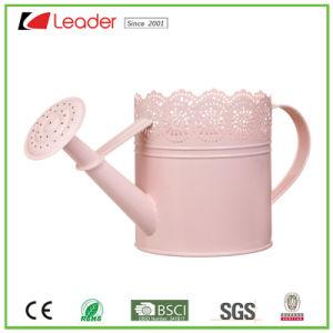 De multifunctionele Exclusieve Roze Gieter van het Metaal voor de Ornamenten van het Huis en van de Tuin
