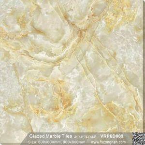 建築材料の十分に磨かれた艶をかけられた磁器の床タイル(600X600mm、VRP6D009)