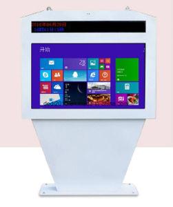 Dedi 55インチのファン冷却を用いるPlayeを広告する水平の屋外のタッチ画面のデジタル表記