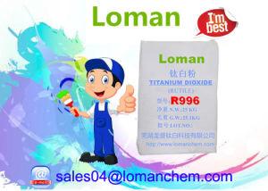 De Zelfde Kwaliteit van het Rutiel van het Dioxyde van het titanium TiO2 aan Lomon R996