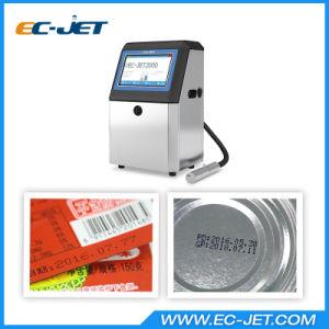 La impresión de códigos de barras industrial de la impresora de inyección de tinta continua para la codificación de lote (CE-JET2000).
