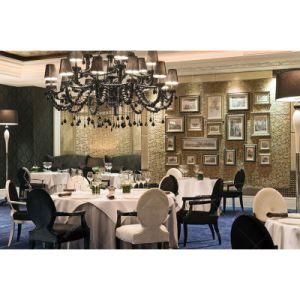 Hotel moderno comedor Muebles Restaurante conjunto de tablas