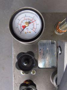 Tubo de plástico de la mano de la bomba de la prueba de presión para el SPP, tubo de PE (RP-50)