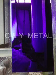 304 Salable super miroir avec couleurs violet